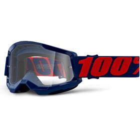 100% Strata Anti-Fog Goggles Gen2, masego/clear